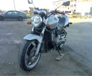 Výcvikový motocykel Honda CB600F Hornet