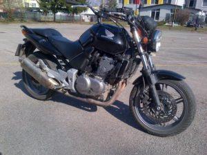 Výcvikový motocykel Honda CBF 500